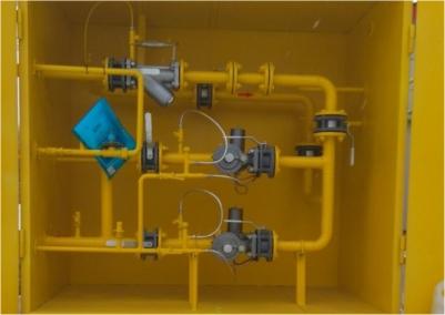 Изготовлен шкафной узел учета расхода газа ШПУРГ-Ш-25-Р