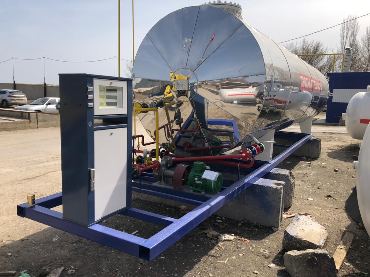 Изготовление и отгрузка модульной технологической системы АГЗС-20-2