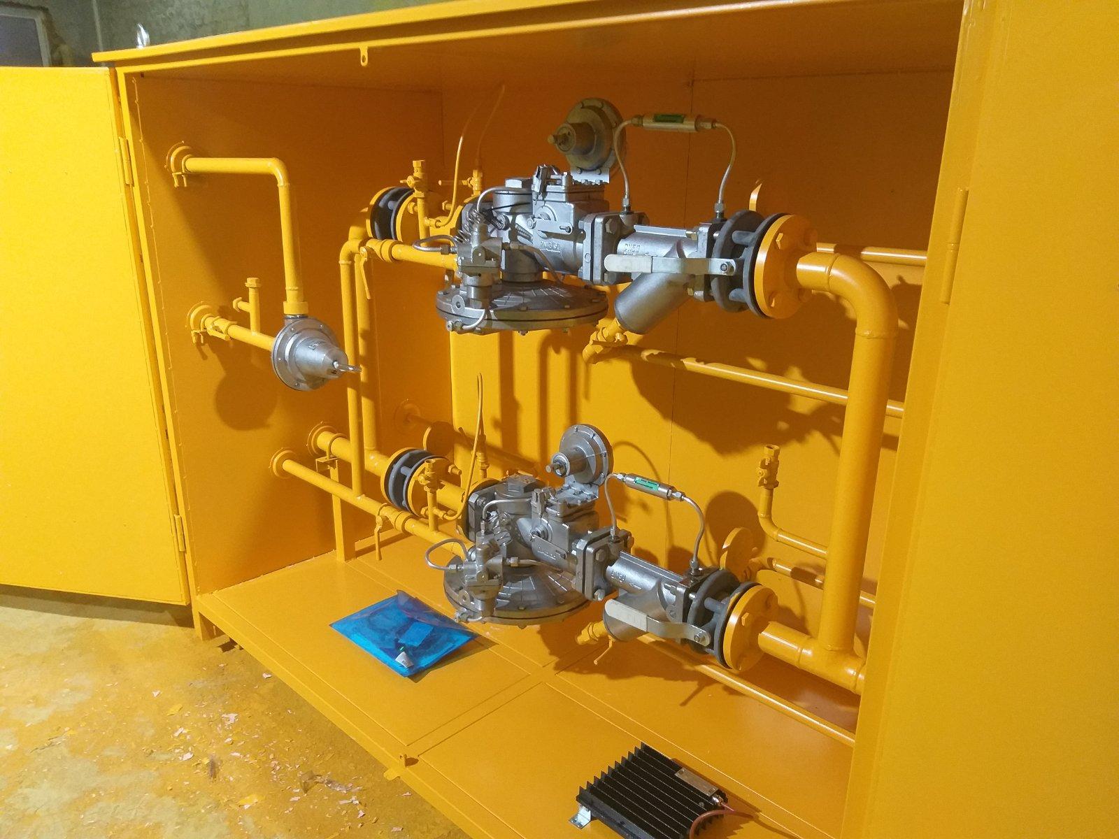 Изготовлены три газорегуляторные установки ГРПШ-UNG-13-2ВУ1.