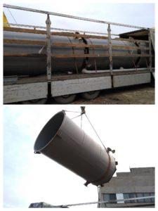 Отгрузка насосной установки и резервуаров. 1