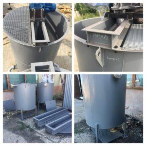 Изготовление резервуаров для насосной установки подачи рапы