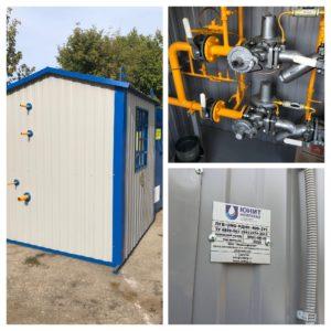 Изготовление и отгрузка партии оборудования в составе ПГБ и четырех ГРПШ