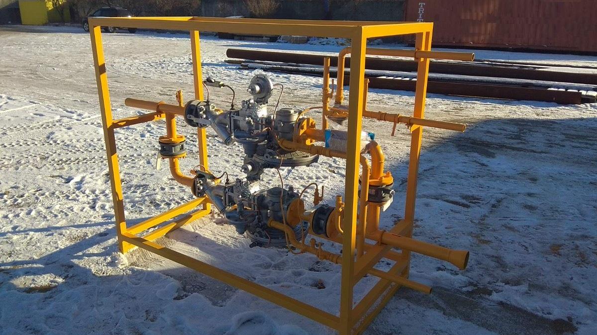 Изготовлена и отгружена заказчику газорегуляторная установка в исполнении на раме ГРУ-UNG-50\25-241