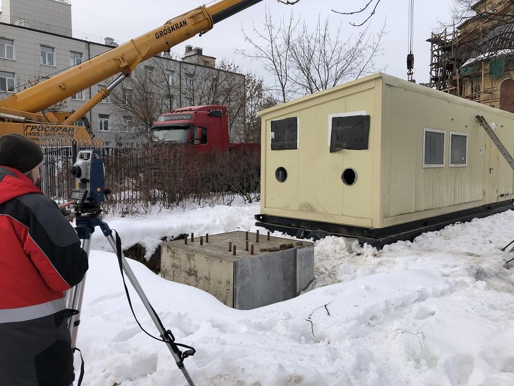 Выполнен монтаж модульной котельной установки ТКУ-820 кВт