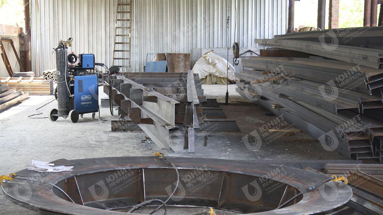 Конструктивные металлоконструкции резервуара