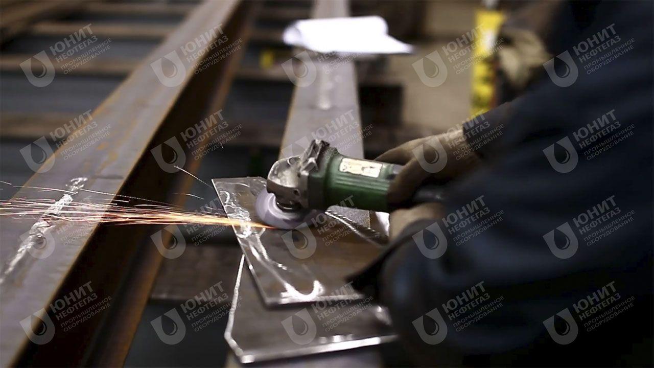 Обработка элементов металлоконструкций