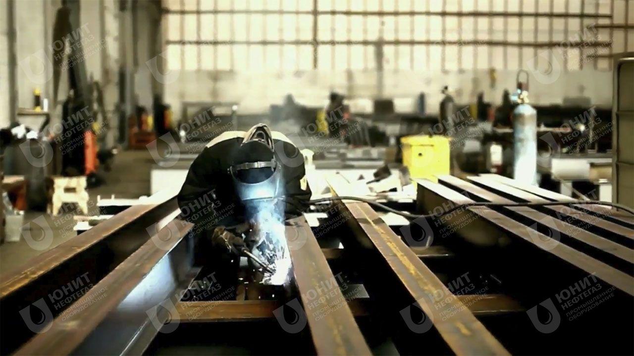 Сварочные работы по изготовлению элементов металлоконструкций
