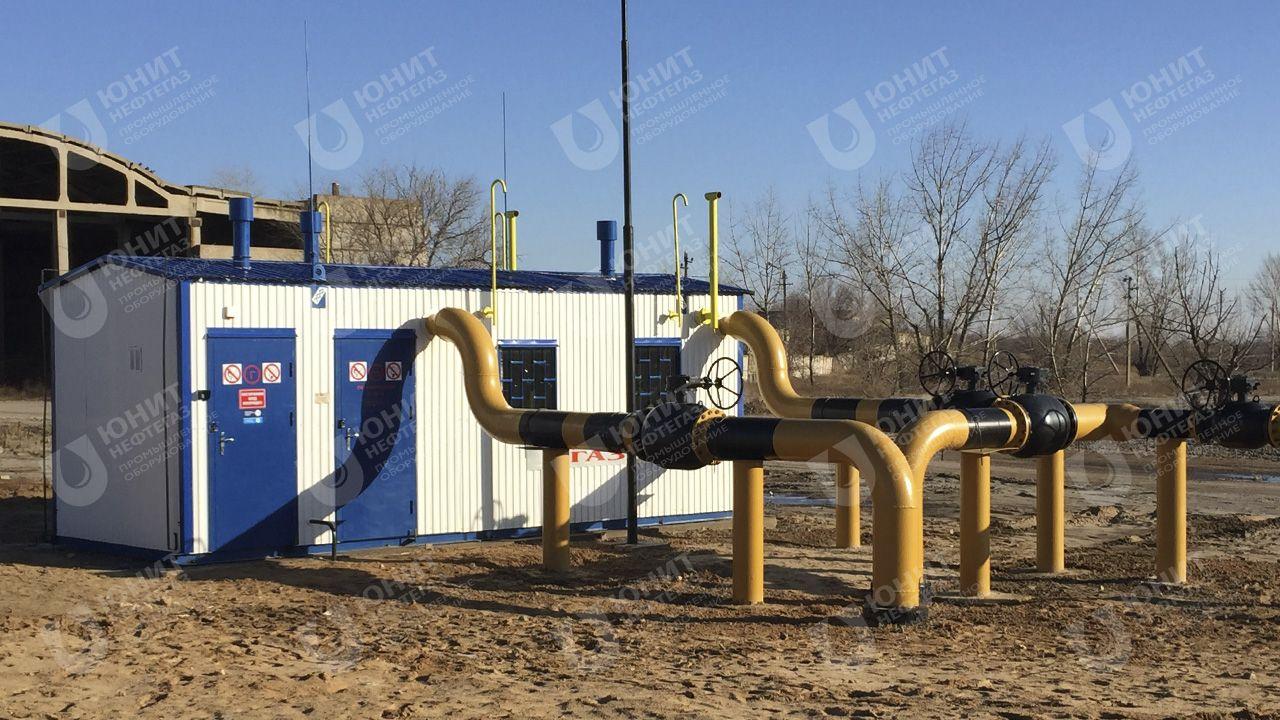 Газорегуляторный пункт с подведённым газопроводом и запорной арматурой