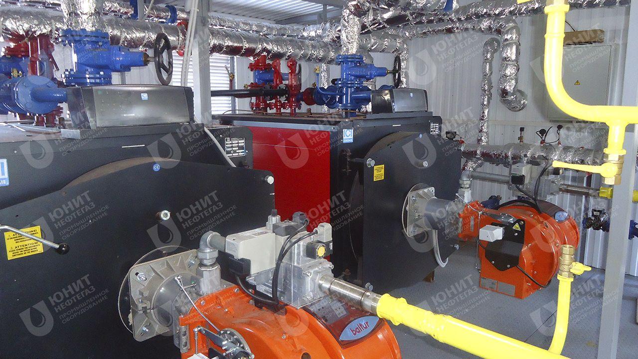 Модульная котельная установка ТКУ-1,6 МВт