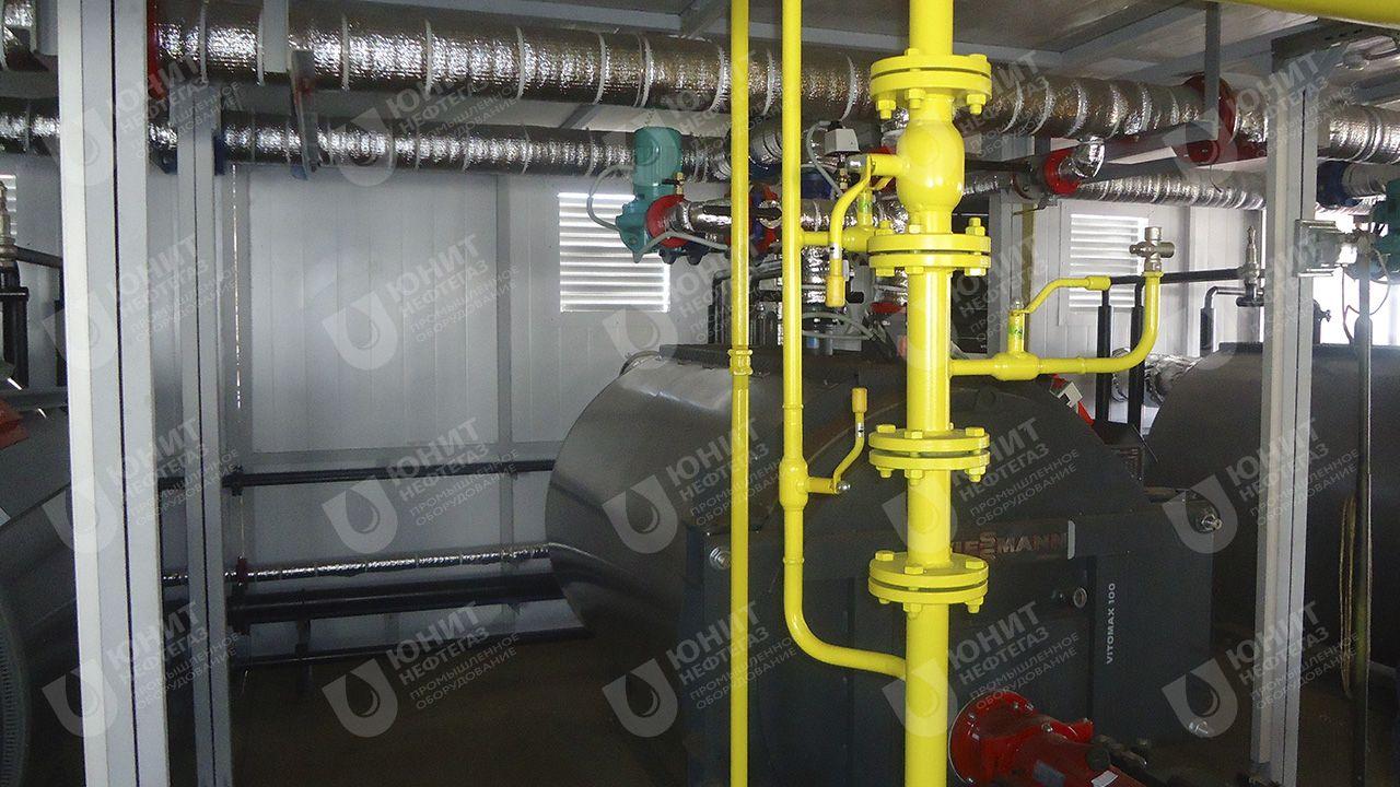 Модульная котельная установка ТКУ-2,4 МВт на базе котлов фирмы Viessmann-Vitomax 100