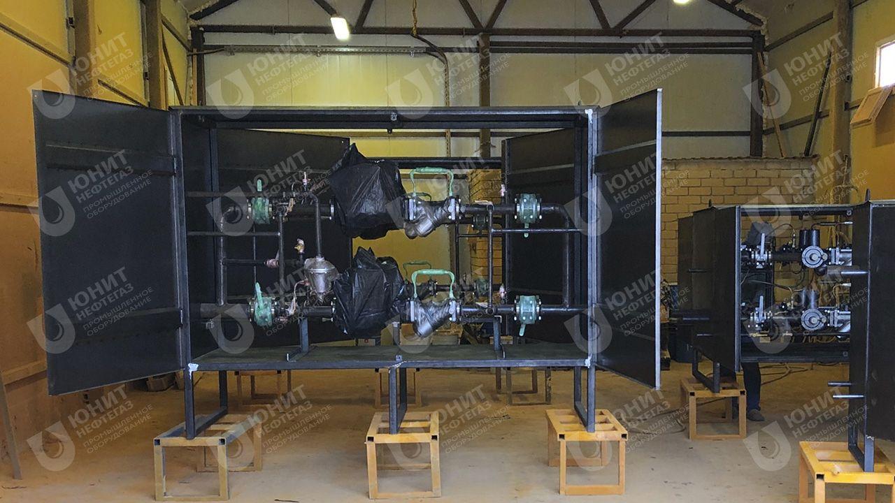 Процесс покраски газорегуляторных установок