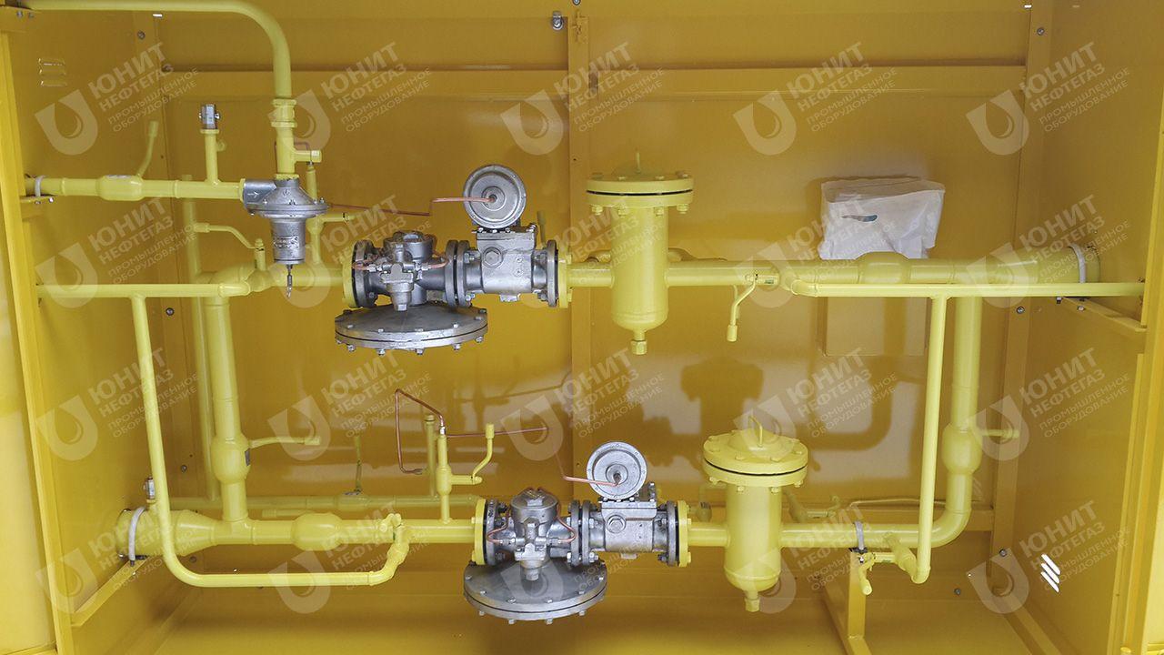 Технологическое устройство газорегуляторной установки