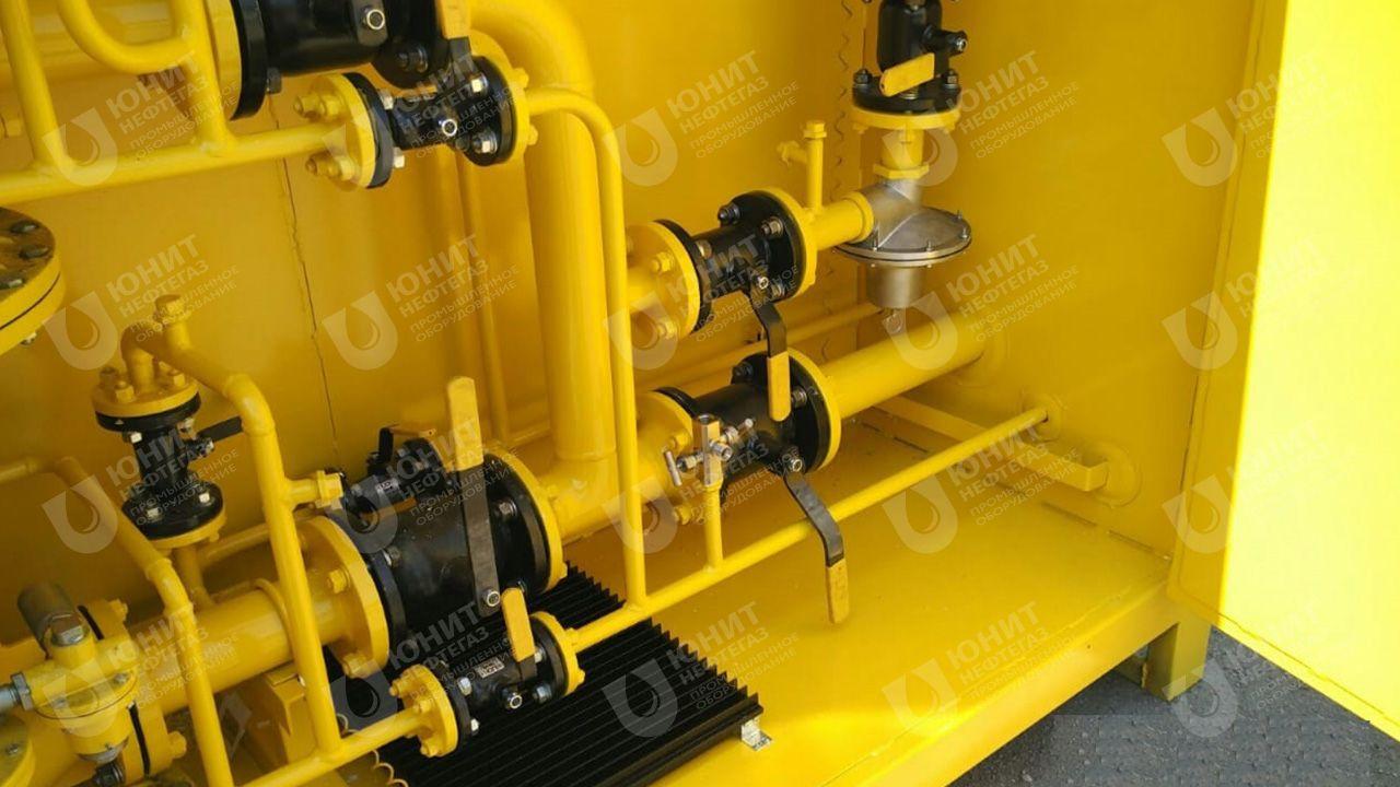 Газорегуляторная установка с электрическим взрывозащищенным обогревом