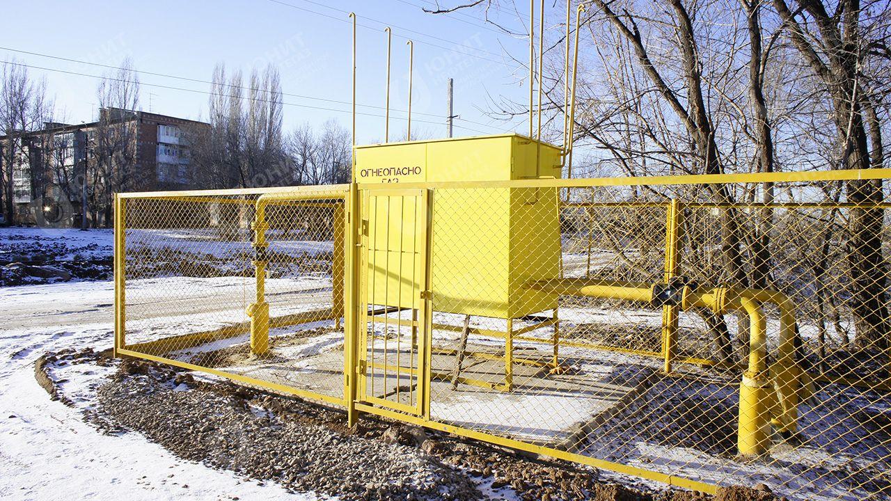 Газорегуляторная установка шкафного исполнения