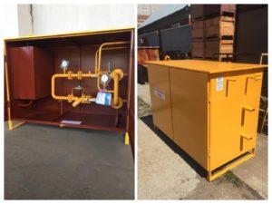 Изготовление и отгрузка установки учёта расхода газа ШУУР-100